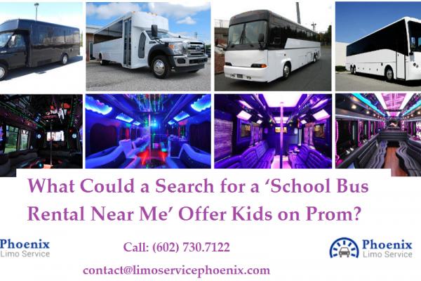 School Bus Rental Service