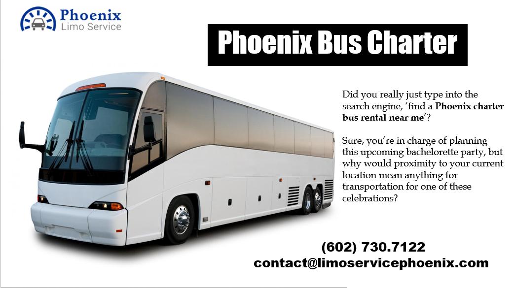 Phoenix Charter Bus Near Me
