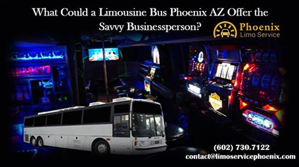 What could a limousine bus phoenix az offer the savvy for Motor vehicle services phoenix