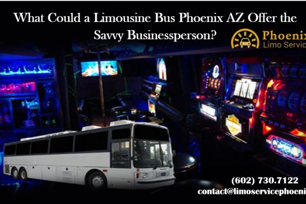 Limousine Bus Phoenix AZ