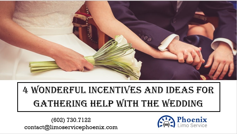 4 Great Ways to Afford Helping Hands During The Wedding