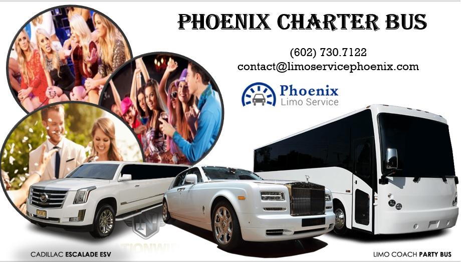 Charter Bus Phoenix AZ