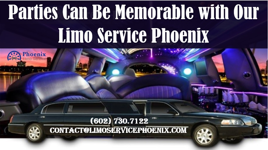 Parties can be memorable with our limo service phoenix for Motor vehicle services phoenix
