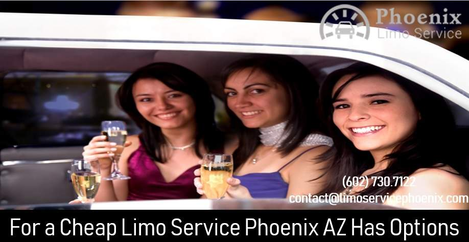 For a Cheap Limo Service Phoenix AZ Has Options
