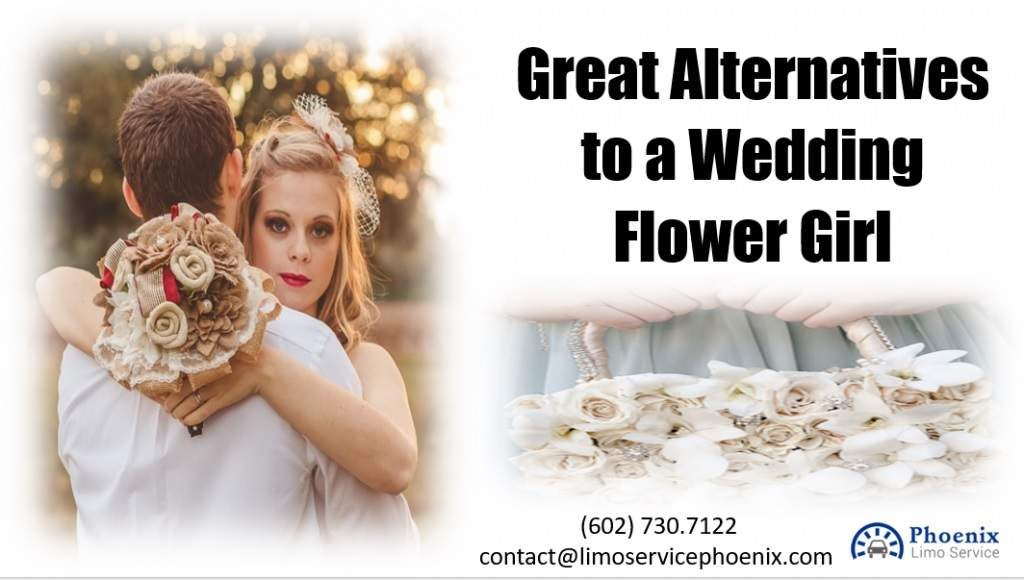 Great Alternatives to a Wedding Flower Girl