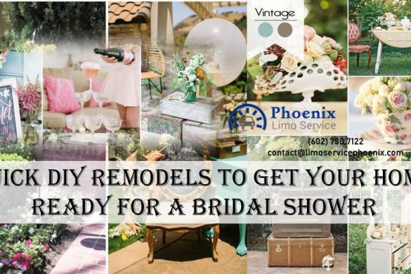 Quick DIY Remodels to Get Your Home Ready for a Bridal Shower