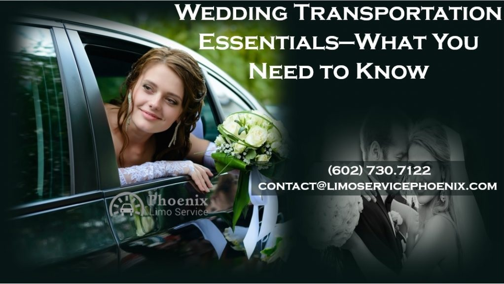Transportation that Will Make Your Wedding Great!