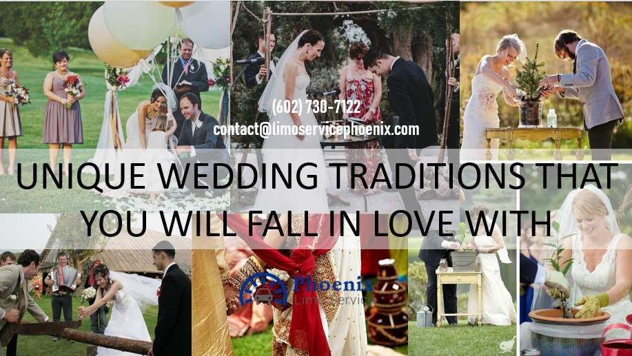 Unique Wedding Traditions that You will Fall in Love With