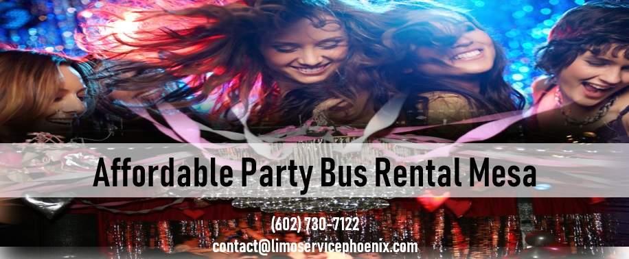 Party Bus Rental Mesa Arizona