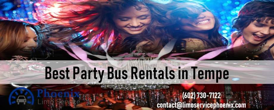 Cheap Party Bus Rental Tempe Arizona