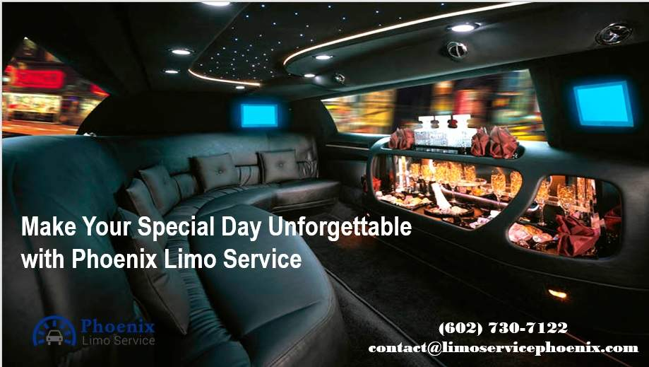 Make Your Special Day Unforgettable with Phoenix Limo Services