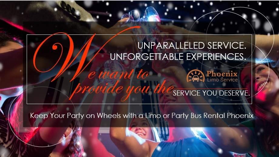 Keep Your Party on Wheels with a Limo or Party Bus Rental Phoenix