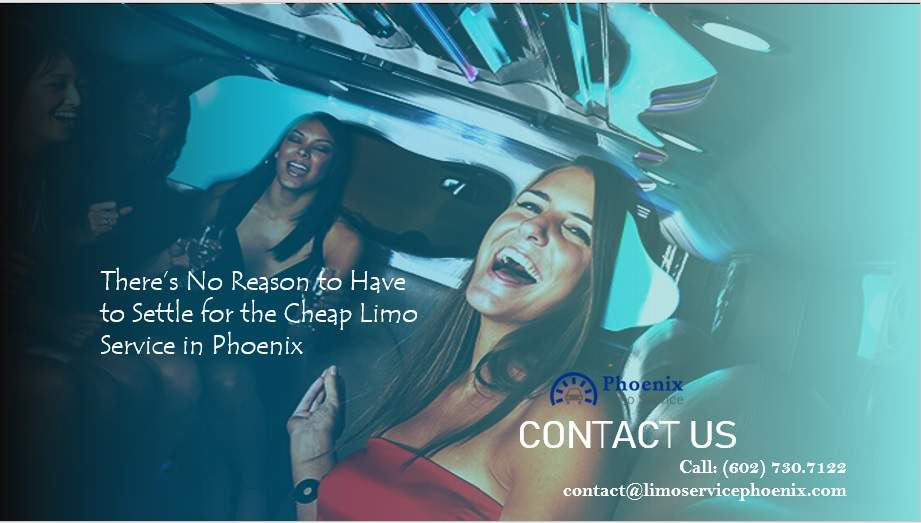 Cheap Limo Service in Phoenix
